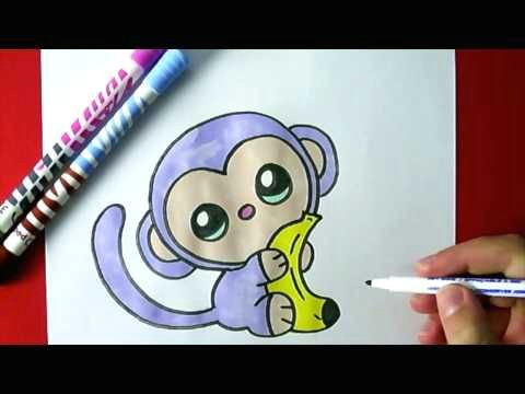 kiwi dessin comment dessiner un panda kawaii licorne youtube