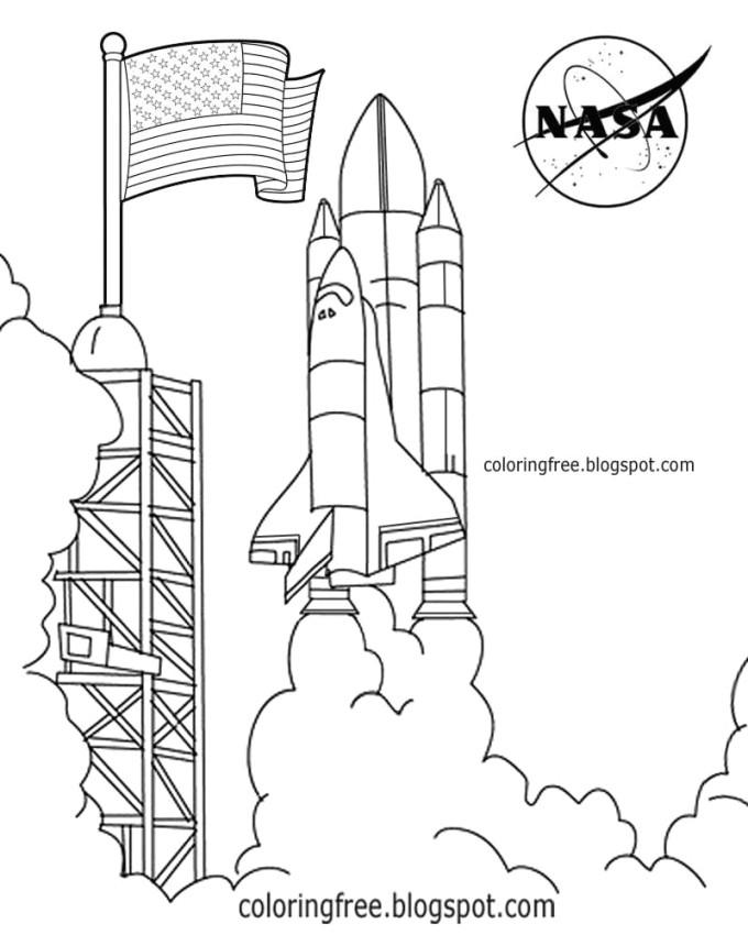 rocket drawing rocket nasa 680x850