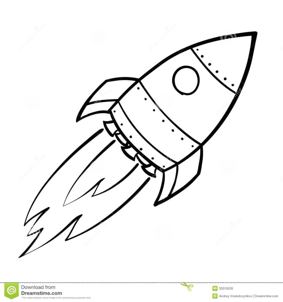 how to draw a rocket drawn ship rocket ship