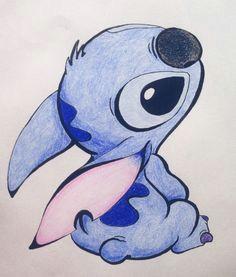 stitch drawing disney lilo stitch