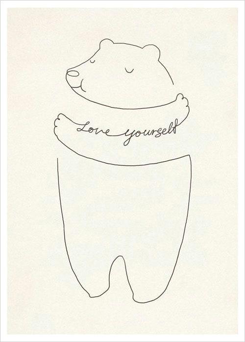 love yourself inspiring poster design ilovedoodle cute inspiring posters from ilovedoodle