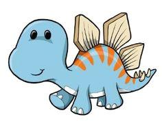 childrens wall decals cartoon baby blue dinosaur 12 inch removable graphic cartoon dinosaur