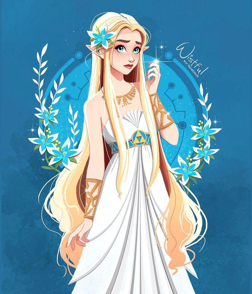 zelda breath of the wild silent princess flower zelda breathofthewild botw