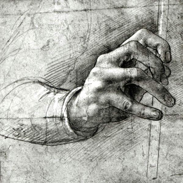 hand by leonardo