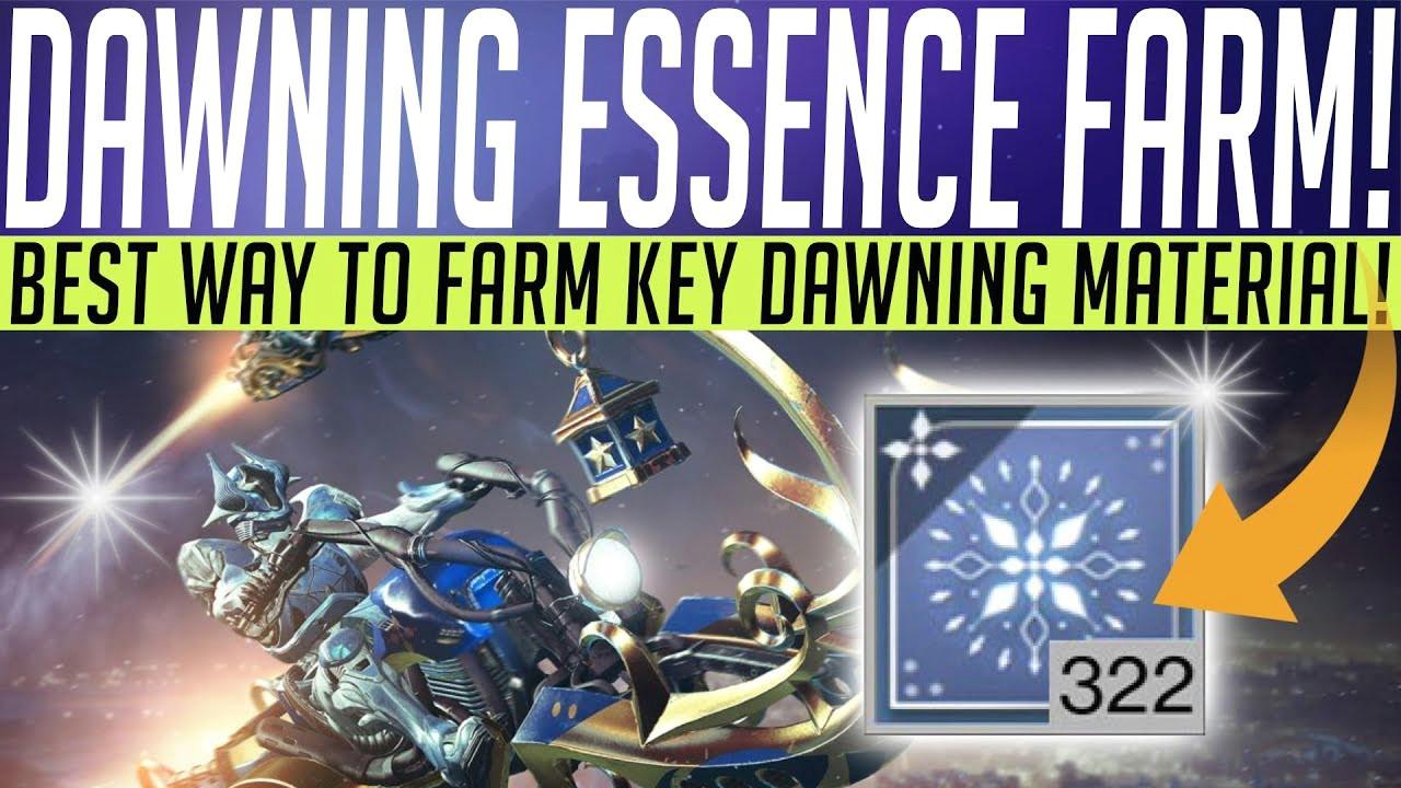destiny2 dawningfarm essenceofdawning