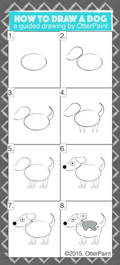 Directed Drawing Dogs 161 Best Step by Step Drawing Images In 2019 Drawing Techniques