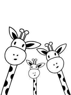giraffe nanamia design giclee print