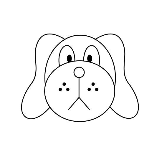 how to draw a dog face 16 steps wikihow