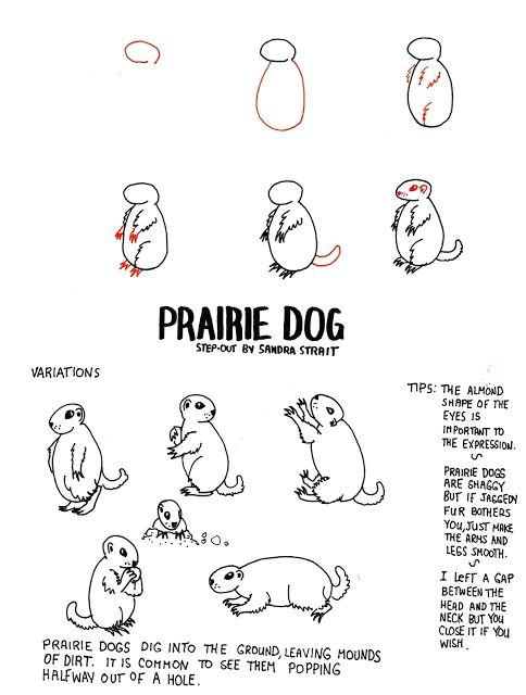 life imitates doodles prairie dog fantasy landscape step out fantasylandscape step out drawingtutorial