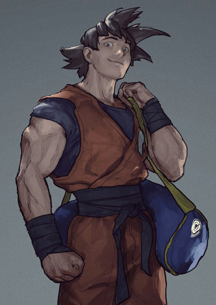 sangoku by aldgerrelpa on deviantart dbz anime comics dragon ball z drawing