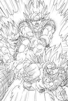 family kamehameha manga dragon dragon ball z goku saga manga anime