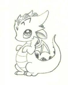 baby dragon baby dragon easy dragon drawings