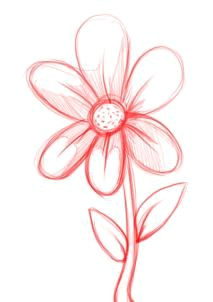 how to draw a simple flower step 4 simple flower drawing simple flowers to draw