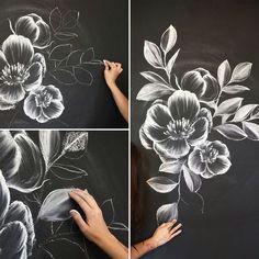 time to learn chalk art from an insta famous social celeb chalkboard art kitchen
