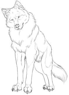 wolf linart by crimsonwolfsobo deviantart com on deviantart ideen furs zeichnen bilder