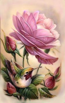 birds blooms 93 hummingbird
