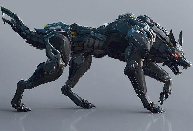 shadows armor animal robot sci fi rpg sci fi armor robot design