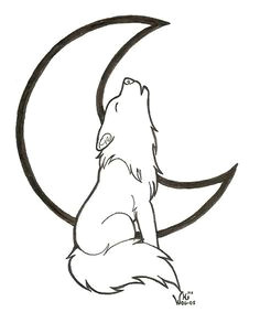 simple wolf head outline wolf clipart easy pencil and in color wolf clipart easy