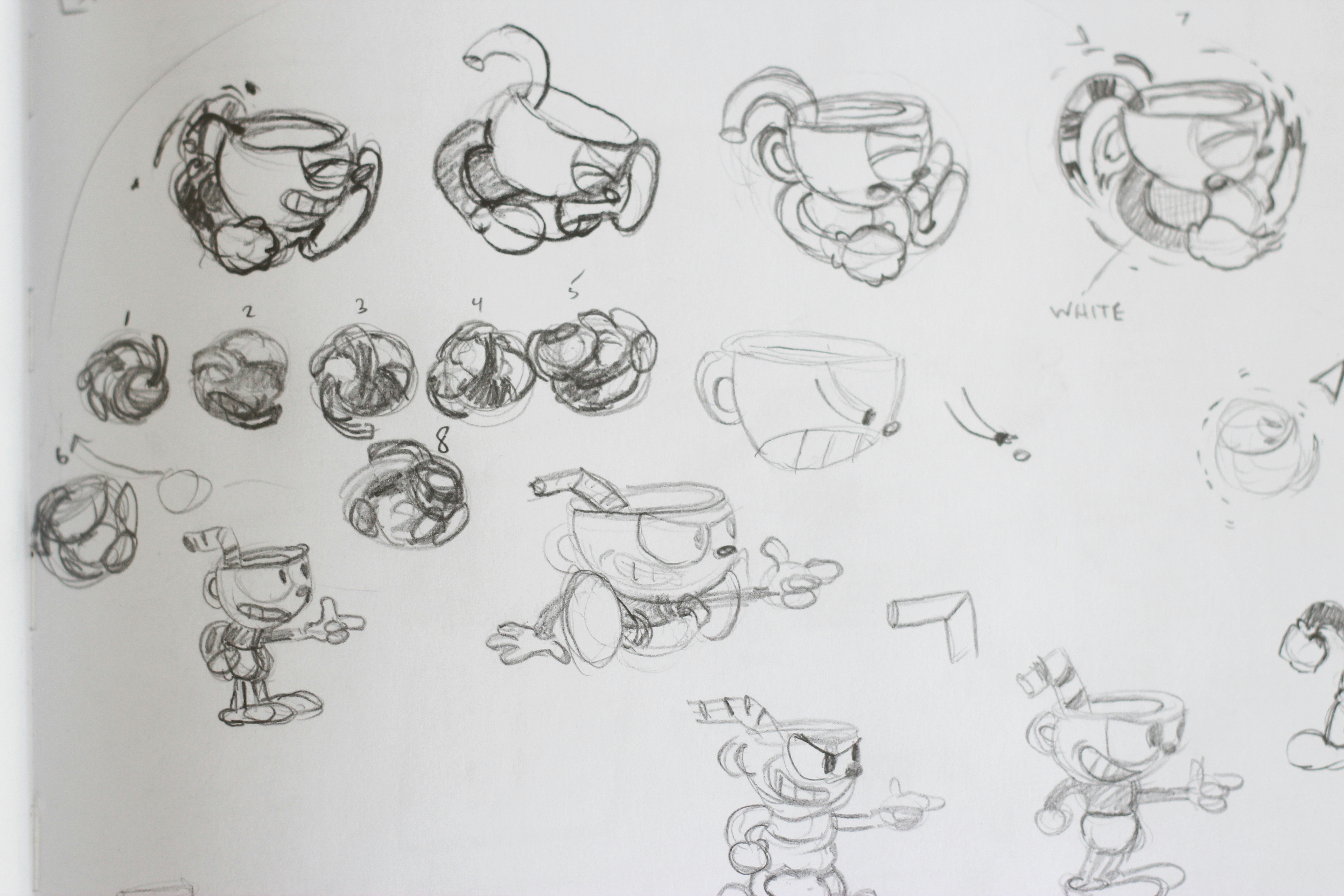 Drawing 1930s Cartoon Cuphead Creating A Game that Looks Like A 1930s Cartoon the Verge