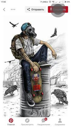 d d n d n d n n d d n d n d d n dod d gravure illustration illustration art skater kid cool wallpaper