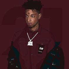 trap central 21 savage trill art marker art artist art hip hop art