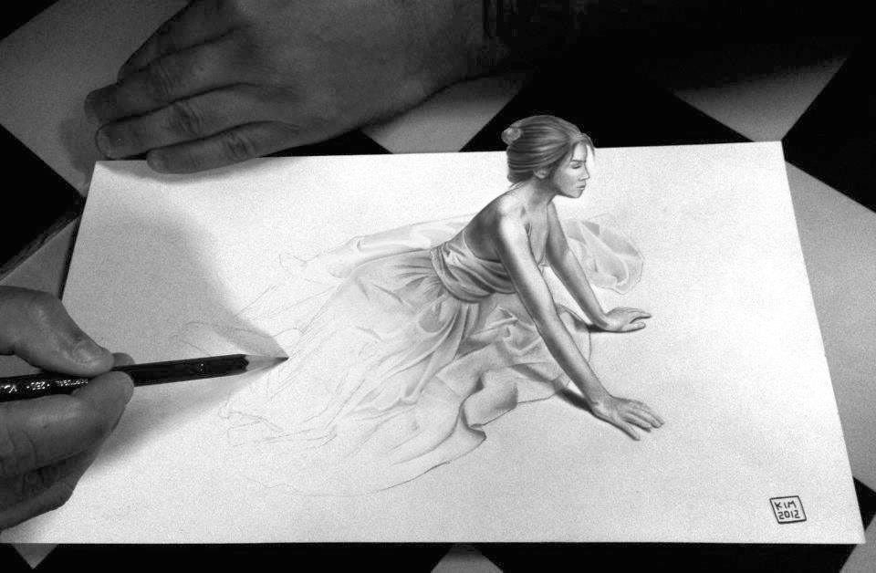 3d drawings pencil drawings of love amazing drawings