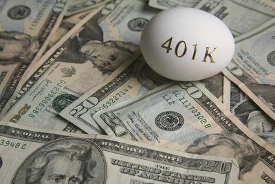 20 bills and a 401 k nest egg