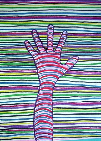 5th grade lesson contour line drawing