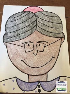 Drawing 5th Class Rosa Parks A Directed Drawing and A Freebie Drawing Pinterest