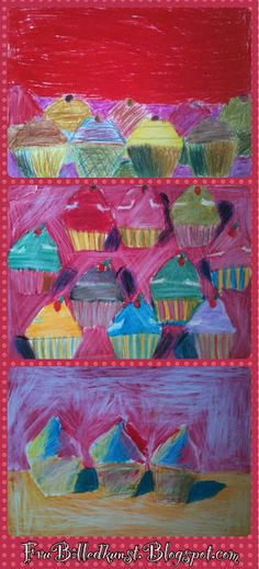 more cupcakes pictures from 2nd class frubilledkunst more cupcakes teaching art