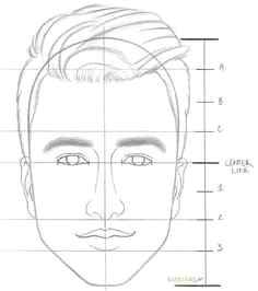 how to draw a face step by step step 8 how to draw portraits
