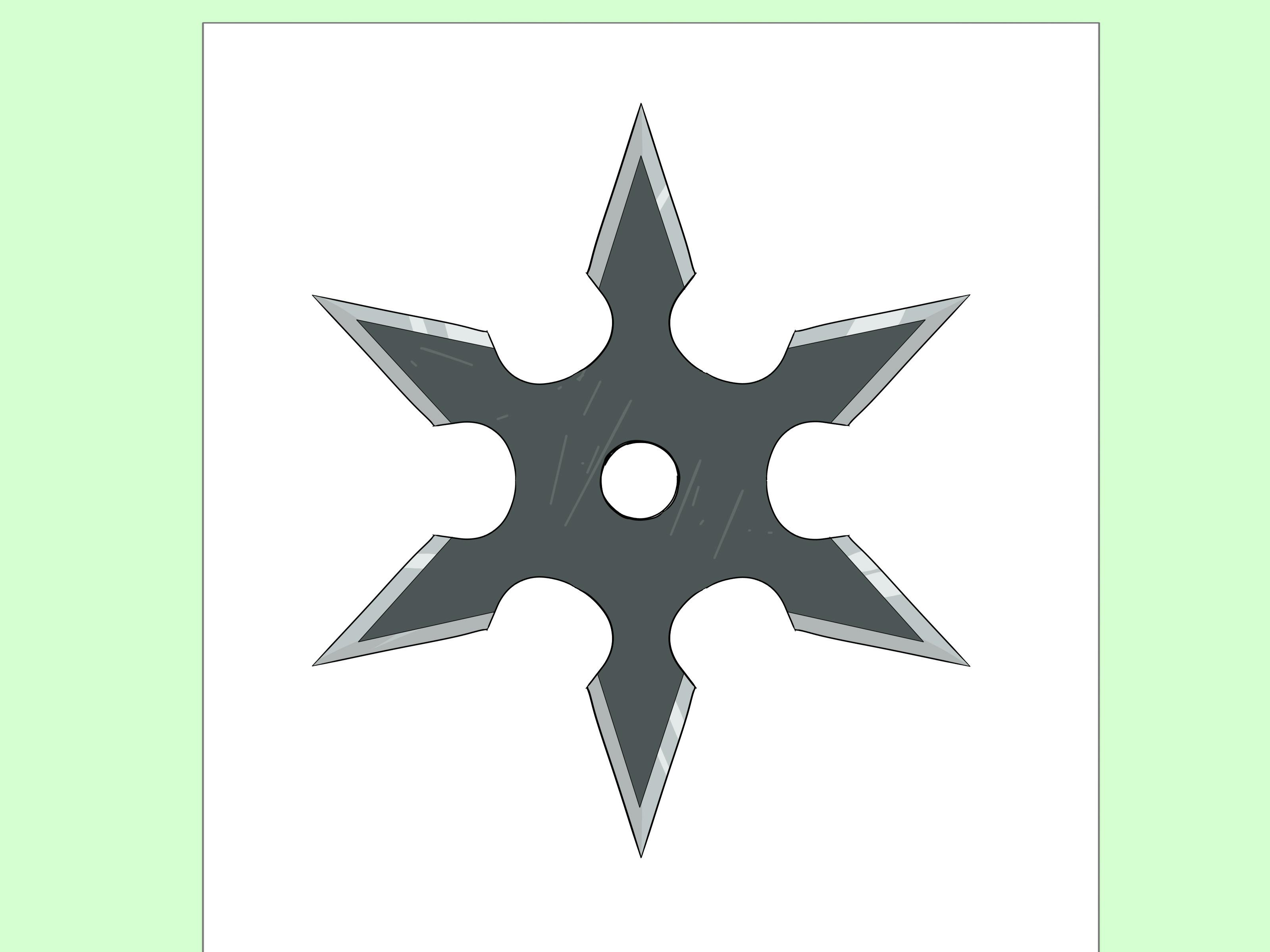 draw a ninja star step 14 version 2 jpg
