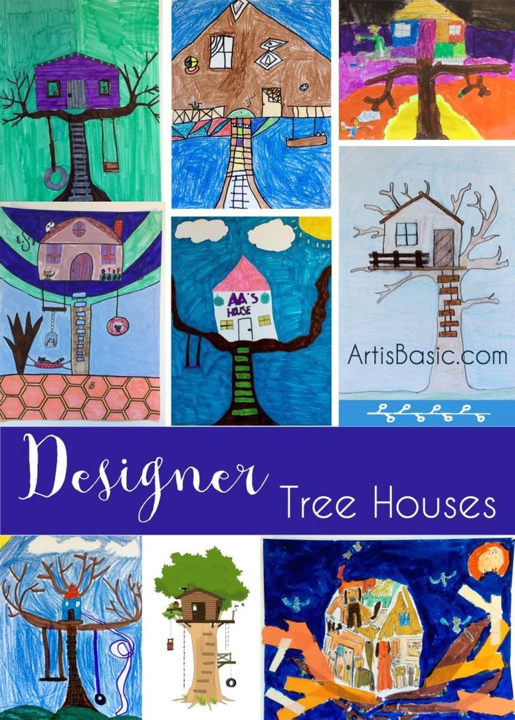tree house drawings