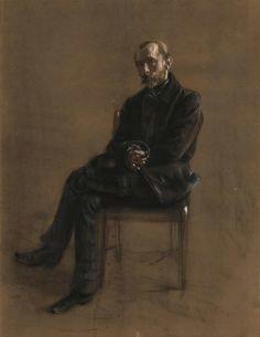 adolph von menzel 1815 1905 portrait of the painter alexander friedrich fritz