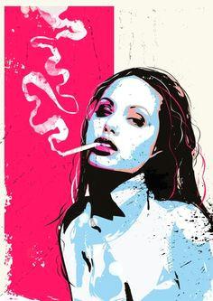 pop art illustrations by