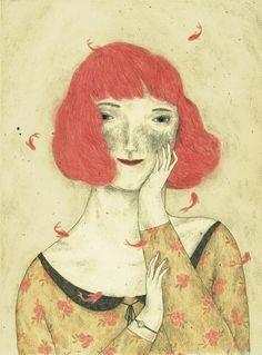 beautiful new works by italian artist monica barengo on the blog http
