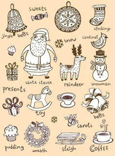 let it snow christmas illustration xmas presents christmas makes all things christmas
