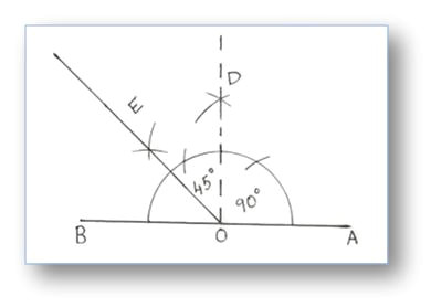 Drawing 75 Degree Angle Compass Construction Of Angles by Using Compass Construction Of Angles