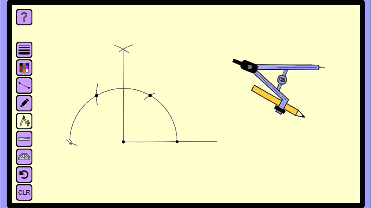 how to construct 135 degree angle