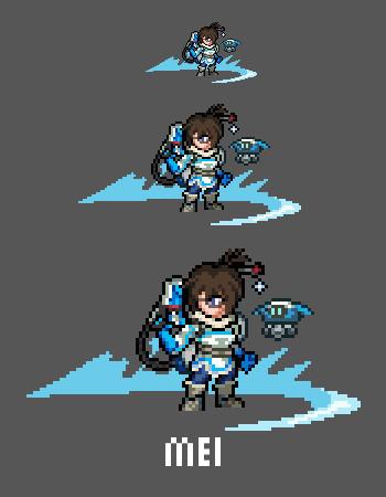 pixel art mei ling zhou overwatch sprite twitter pic twitter com ofkvdcu5wl