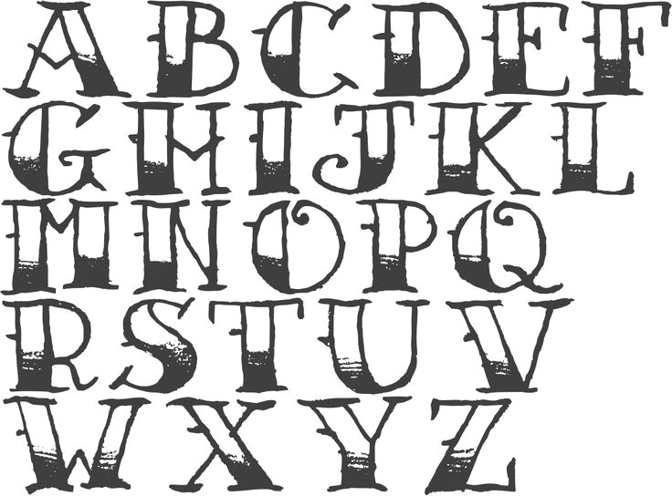 images for how to draw cool letters a z sewing stuff pinterest fonts lettering and hand lettering fonts