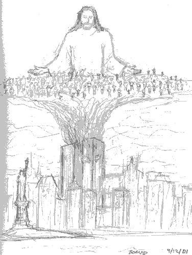 911 drawing jesus1