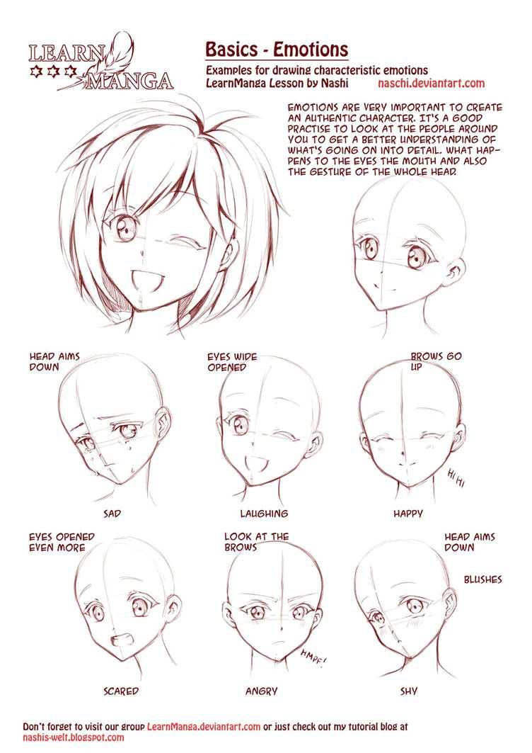 how to draw faces diy thought