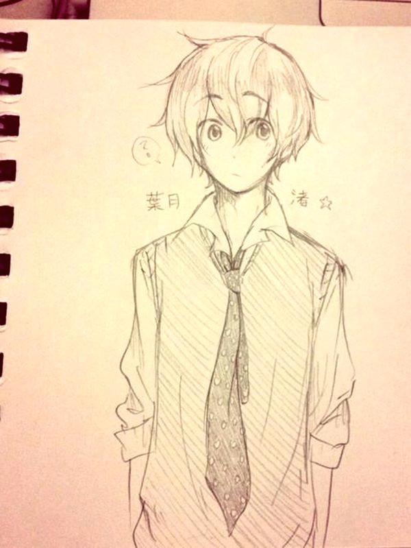 Drawing A Anime Kid 40 Amazing Anime Drawings and Manga Faces Anime Pinterest