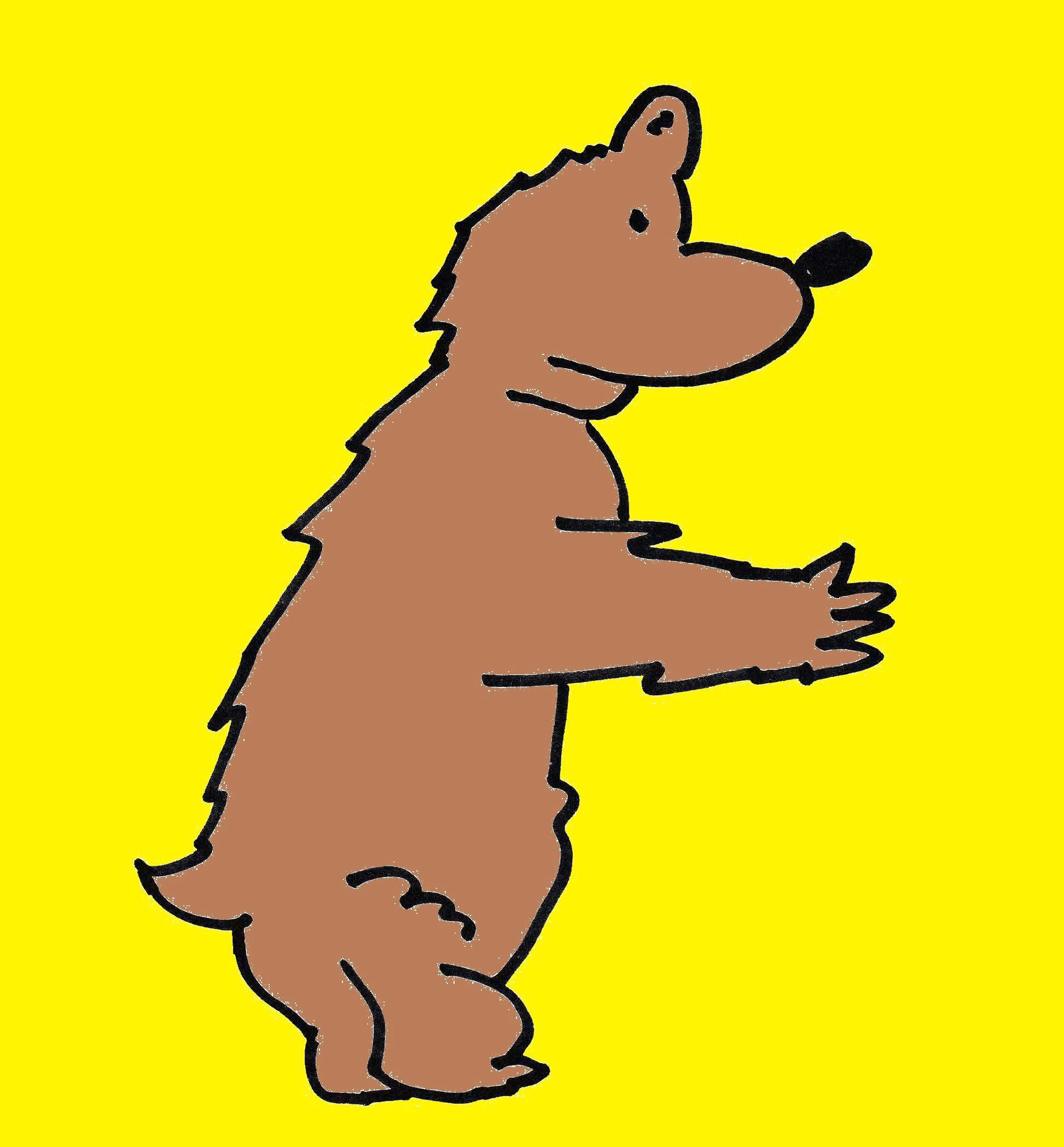 Drawing A Cartoon Bear Cartoon Bear Cartoon Drawing Cartoon Drawing Cartoon Character