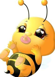 lovely cartoon bee set vectors 19 bee rocks cartoon bee bee pictures cute