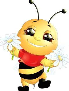 lovely cartoon bee set vectors 13 https www welovesolo com