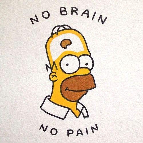 homer simpson brain homer brain homer simpson quotes bart simpson