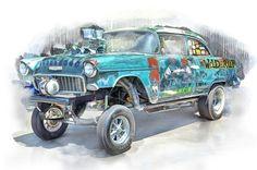 bob kramer car drawingscartoon