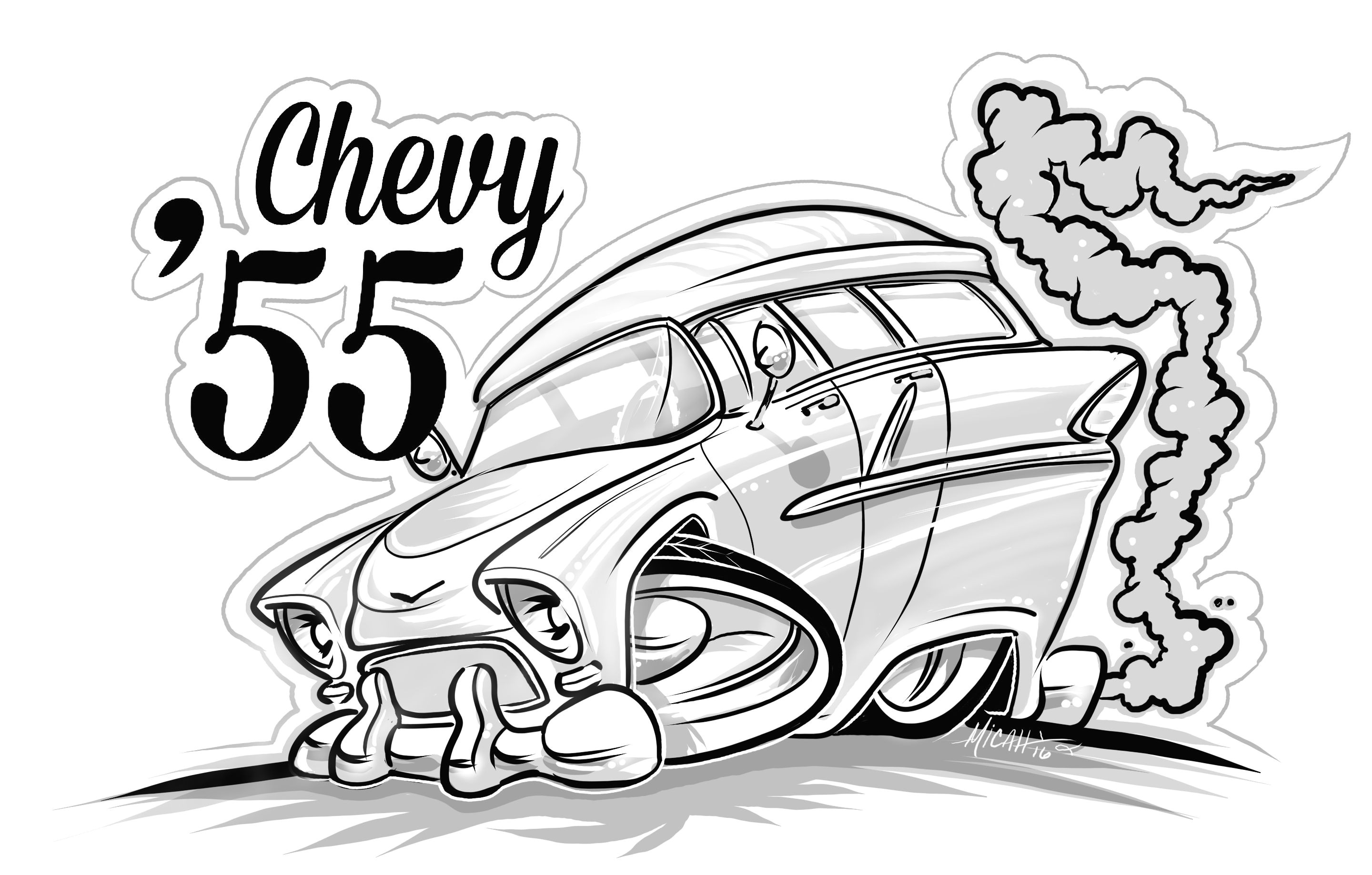 Drawing A Cartoon Car You Can Purchase This Micahdoodles Coloring Book 1 for 8 Contact